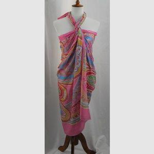 Vintage Cotton Sarong, Multiple Ways to Wear!